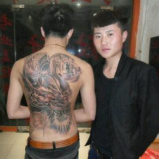 极品牡丹花纹身
