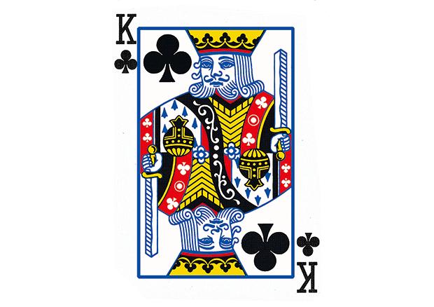 扑克牌上的历史-k系列