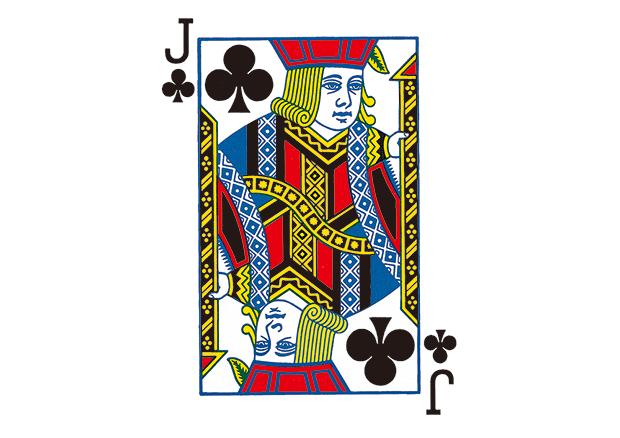 扑克牌上的历史-j系列
