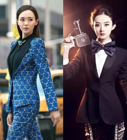 唐嫣vs赵丽颖谁是偶像女王图片