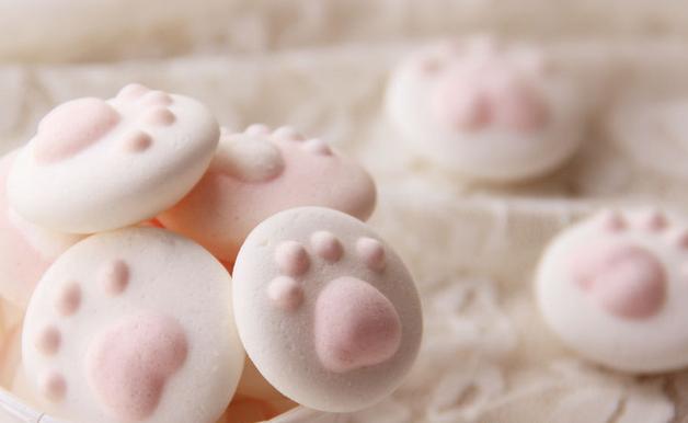 萌萌の猫爪棉花糖
